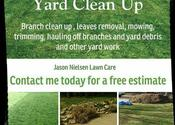Leaves Removal and yard clean up