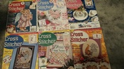 24 Cross Stitcher Magazines