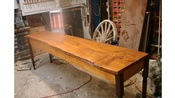 91 1/4 Inch Slab Table Made From a Slab Of Ponderosa Pine From Wyoming