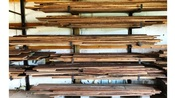 Walnut, Maple, Cottonwood, and Oak Lumber For Sale