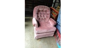 Rose rocker chair