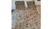 King Comforter, bed skirt and 2 Pillow Cases