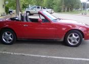 MAZDA MIATA 1990 143,000 ml. New Tires New Exhaust RUN GREAT 2000 for quick sale FIRM
